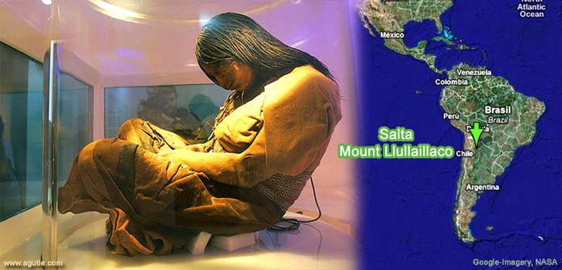 Дева гор 500 летняя замороженная мумия