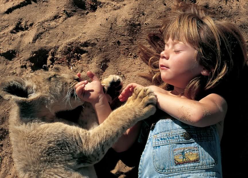 Типпи Дегре - дитя дикой природы