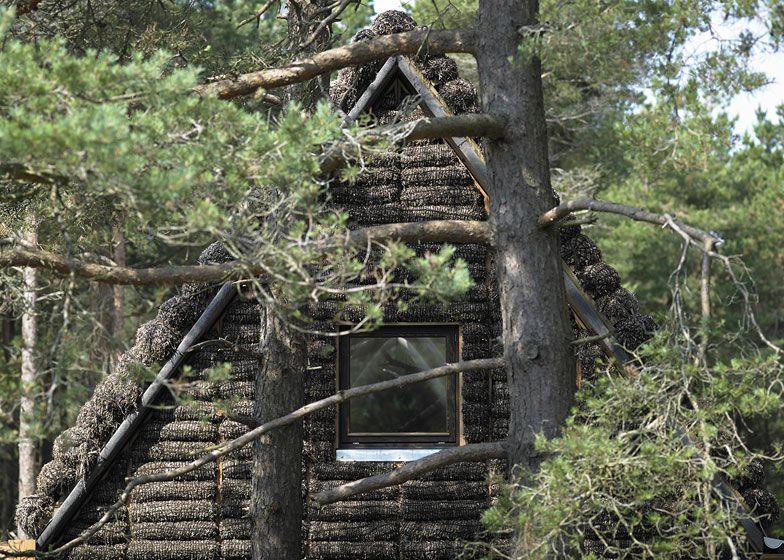 Проект Современного Дома из Водорослей (The Modern Seaweed House)