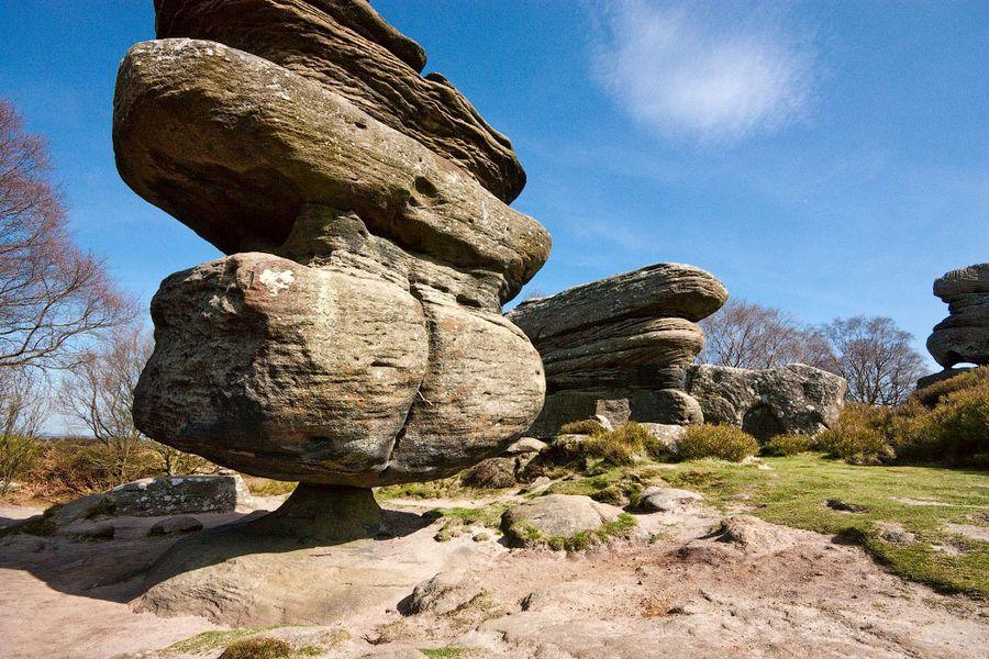 Камень-идол в Бримхэм Рокс