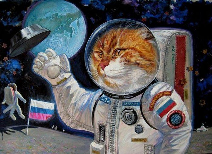 Эпические коты Александра Завалий