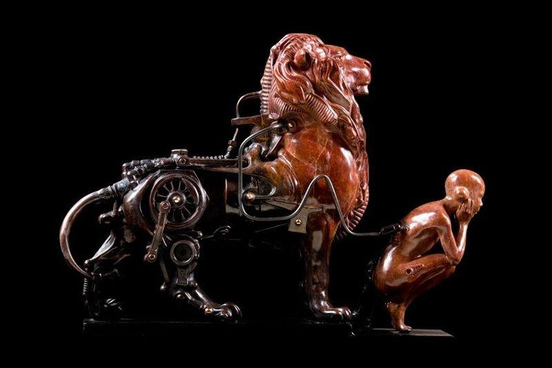Стимпанк скульптуры Пьера Матера (Pierre Matter)