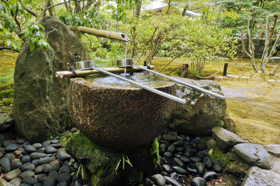 Сад Сайходжи (Saihoji), Япония