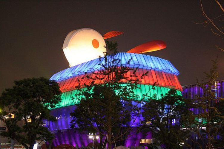 Незвичайна архітектура: будівлі, що нагадують тварин