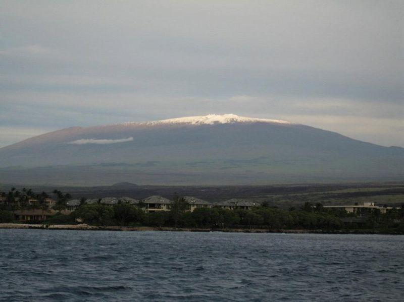 Мауна-Кеа - самая высокая гора