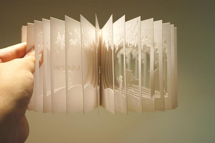 Необычное оформление книги своими руками