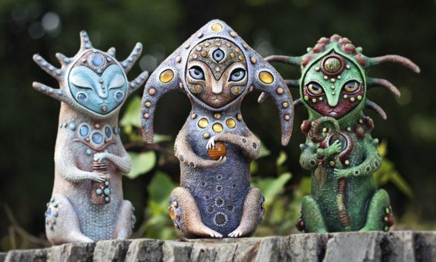 Личинки краказябров и другие игрушки Марьяны Копыловой