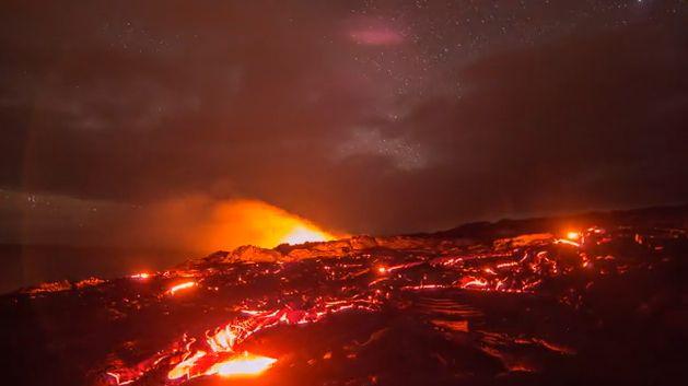 Видео вулканы