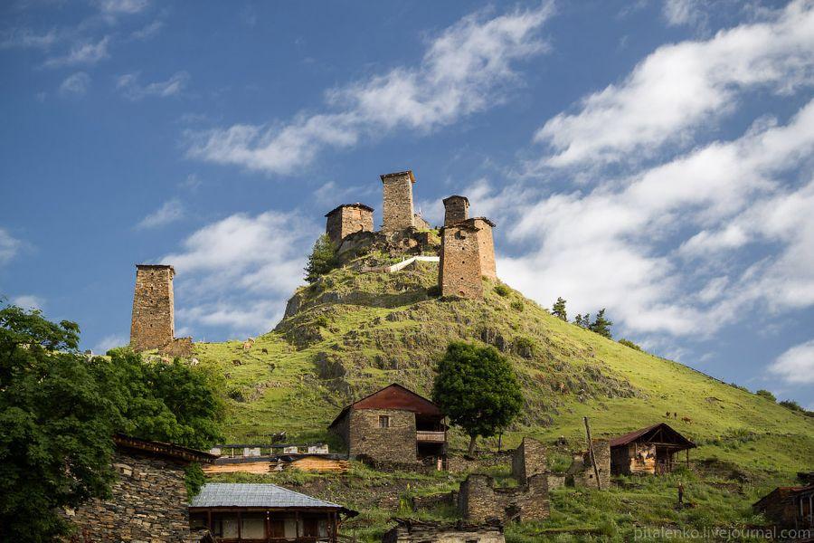 Крепость в Тушети (Ташети)