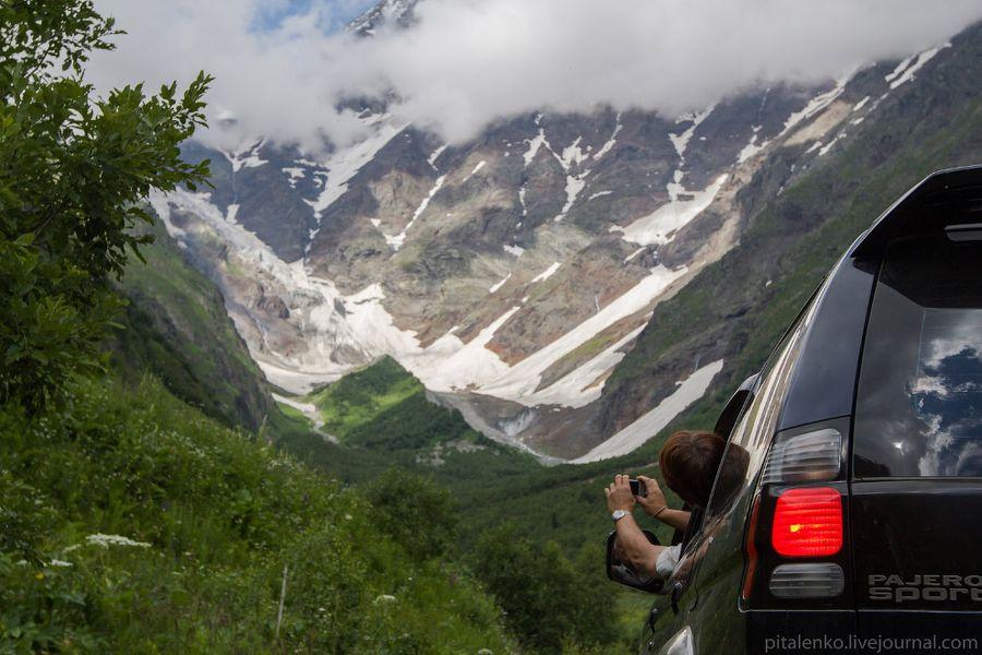 Из Сванетии мы проехали в Кутаиси через горную дорогу