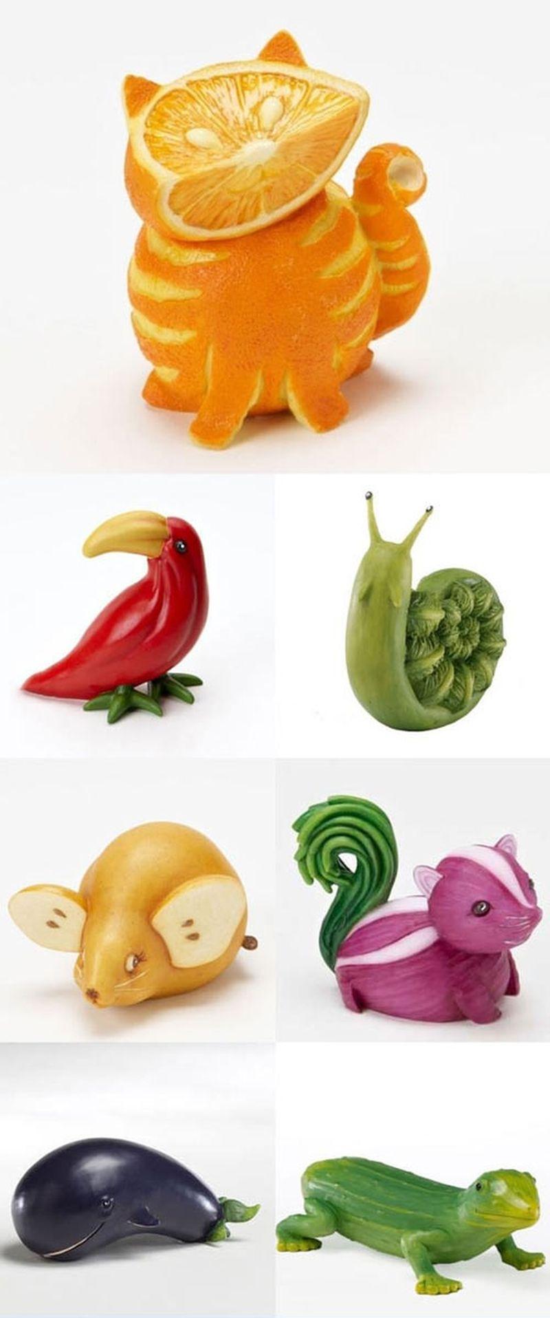 Фигурки овощей своими руками