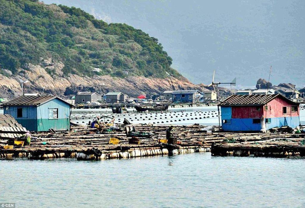 Плавучие деревни Китая
