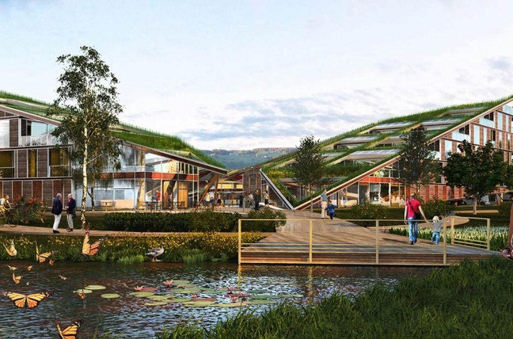 Архитектурный комплекс: Площадь бабочек