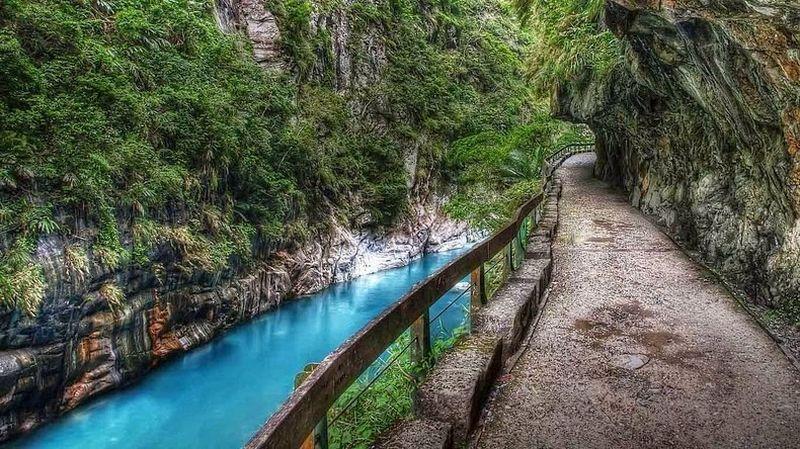 Ущелье Тароко и Мраморные горы Тайваня