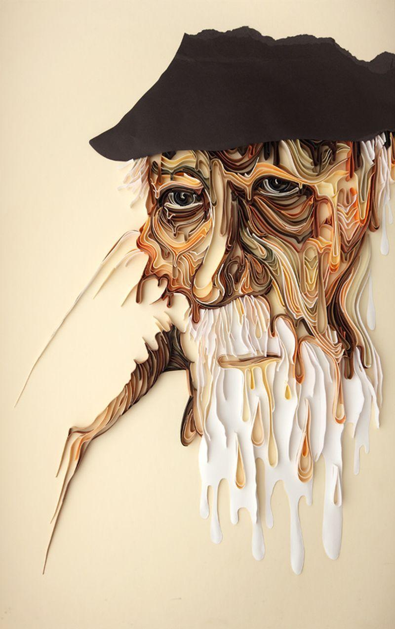 Искусство квилинга от Юлии Бродской