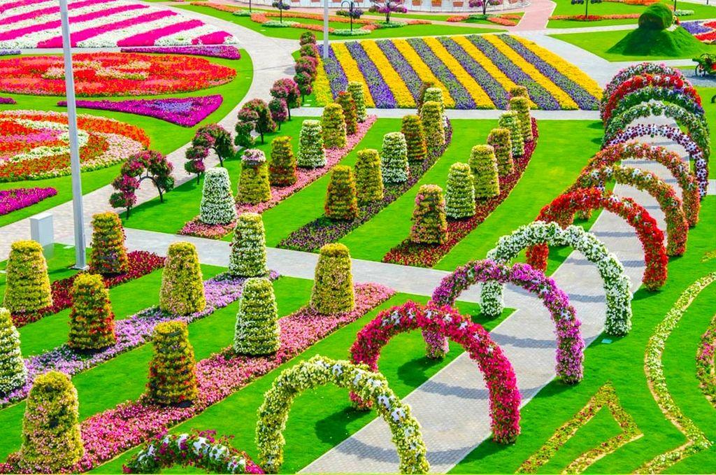 Сад Чудес - самый большой цветочный сад в мире