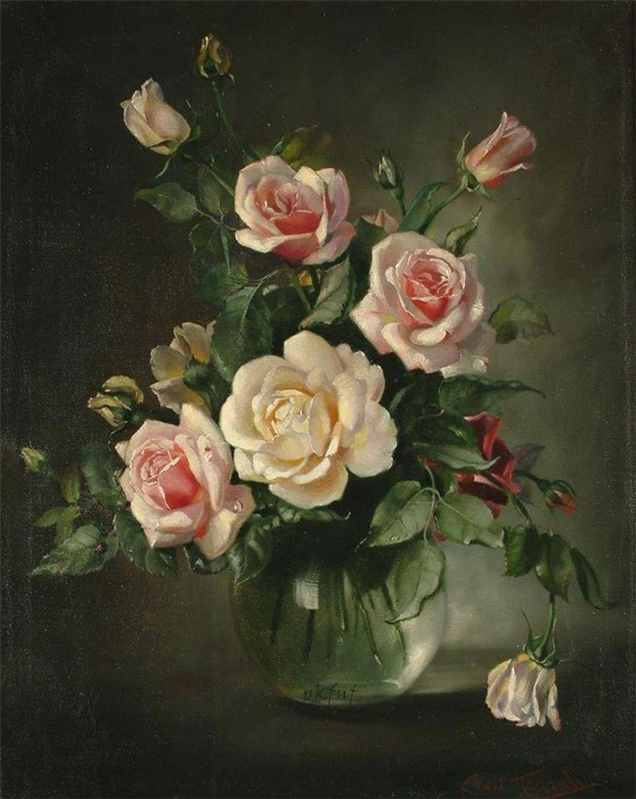 Цветочные натюрмотры Сесил Кеннеди (Cecil Kennedy)
