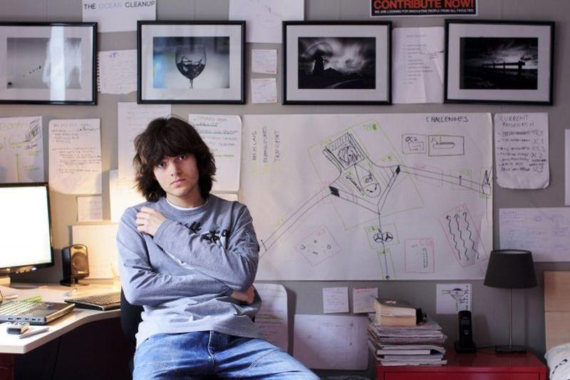Двадцатилетний голландец разработал гениальный план по самоочищению океана