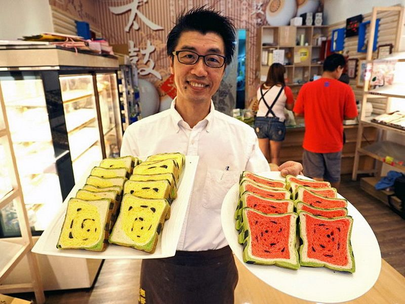Тайваньцы сходят с ума по арбузному хлебу