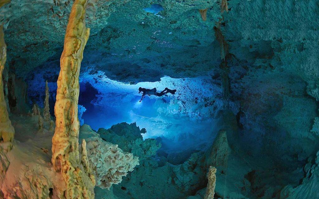 Сак-Актун — самая длинная подземная река, Мексика