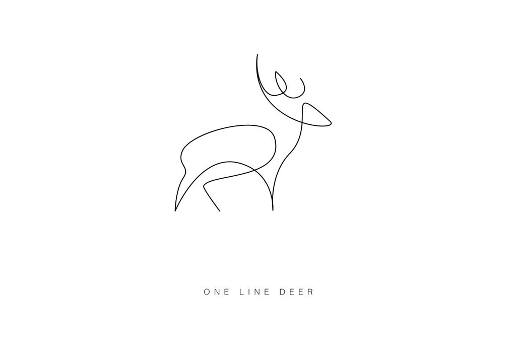 One Line Drawing Tumblr : Рисунки животных одной линией от david hallangen lake