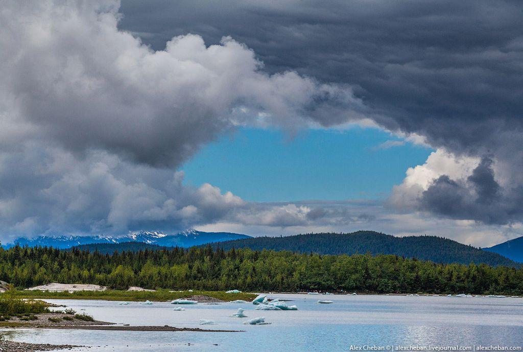 аляска ледники фото