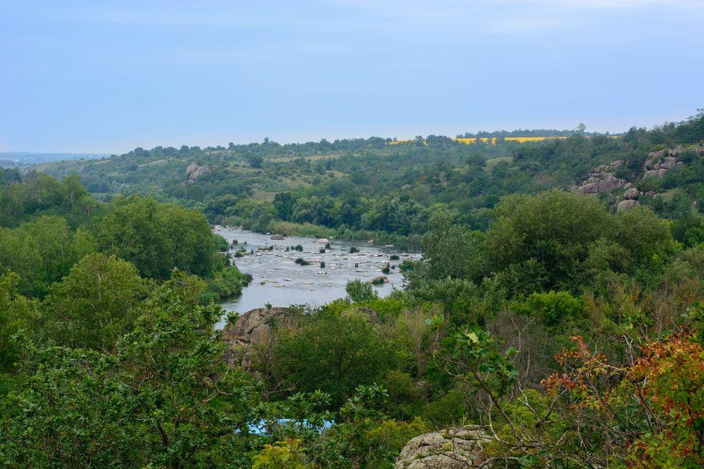 Сплав по Южному Бугу (Мигея) на надувных байдарках