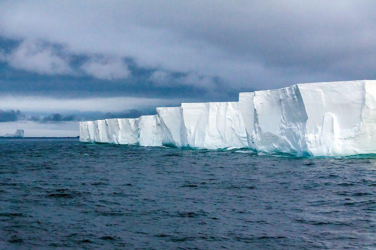 Ледник Туэйтса в Антарктиде